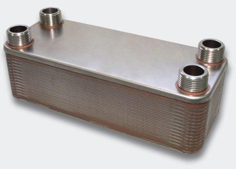 hőcserélő 125kW 30 lemezes