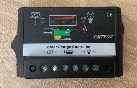 Napelem 12V 24V 5A Napelem vezérlés kontroller töltésszabályozó automatata átkapcsolás