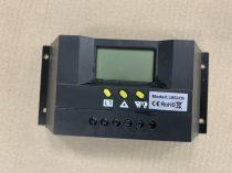 Hibás termék! 12V 24V 30A Napelem töltésszabályzó vezérlés automata átkapcsolás LCD kijelzővel