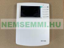 Napkollektor vezérlés SR1568 szolár szabályzó vezérlő kontroller 7 db érzékelővel
