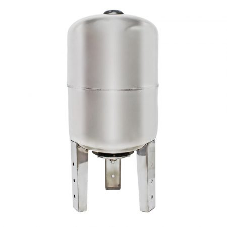 Rozsdamentes tágulási tartály 100 liter álló inox saválló hidrofor EPDM membrán