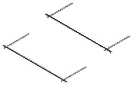 Kisméretű napkollektor rögzítő készlet ferde tető