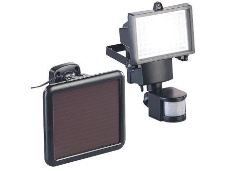 Napelemes LED fali lámpa PIR érzékelővel 12 W  750 lumen IP44
