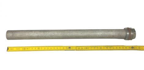 SunSytem magnézium anód 40 cm hosszú 31 mm átmérő 5/4