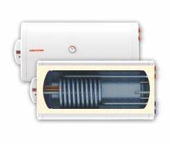 Fekvő 100 literes SunSystem melegvíz tároló 1 hőcserélős napkollektorhoz beépített hőcserélő
