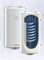 SunSystem 150l indirekt FALI tároló, RITKA 2 hőcserélős kivitel, 1 csőkígyó + 1 palást hőcserélő + 3