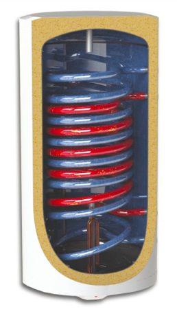 Sunsystem MB-100 2 hőcserélős indirekt tároló balos