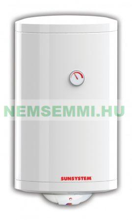 100 literes SunSystem melegvíz tároló villanybojler beépített 2kW fűtőbetéttel. Használati melegvíz