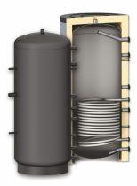 Puffer tároló - 1 hőcserélővel 300 literes tartály melegvíz tárolás céljára