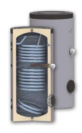 indirekt 2 hőcserélős szolár tároló 500 L