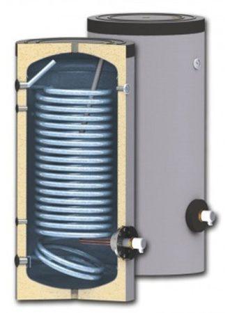 150 literes SunSystem 1 hőcserélős álló, HMV tároló extra nagy hőcserélővel