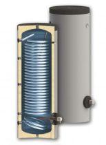 400 literes keskeny SunSystem 1 hőcserélős álló, HMV tároló extra nagy hőcserélővel