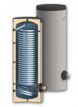 500 literes keskeny SunSystem 1 hőcserélős álló, HMV tároló extra nagy hőcserélővel