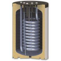 120 literes SunSystem felső csatlakozású 1 hőcserélős indirekt tároló.