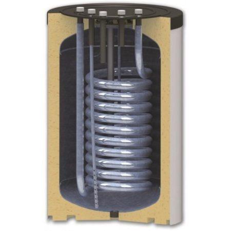 200 literes SunSystem felső csatlakozású 1 hőcserélős indirekt tároló.