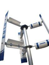 Függőleges szélgenerátor E1000 24V 1000W vertikális tengelyű szélkerék áramtermelésre