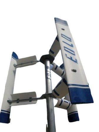 Függőleges szélturbina E2000 24V 2000W vertikális tengelyű szélgenerátor áramtermelésre