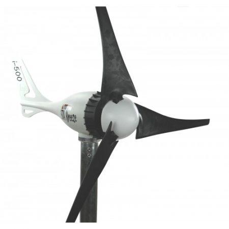 Szélgenerátor 500W AC 24V Breeze 500 váltóáramú szélturbina. Lapátátmérő 103 cm, szelesebb helyekre