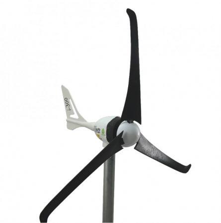 Szélgenerátor szélturbina 350W AC 12V I-300 rotorátmérő 103 cm. Szelesebb helyekre javasolt. 2 év ga