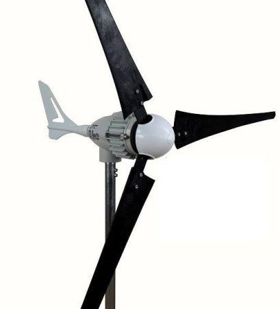 48V szélgenerátor 800W csúcsteljesítménnyel, 150 cm-es rotorátmérővel