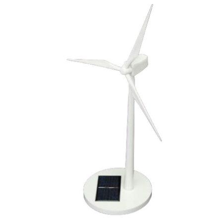 Napelemes szélkerék modell alsó napelemmel