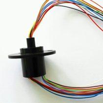 Forgó érintkező 230V 2A 12 vezeték