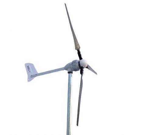 48V szélkerék 210 cm rotorátmérővel 1200W maximális teljesítménnyel.Szélgenerátor a nemsemmi.hu webá
