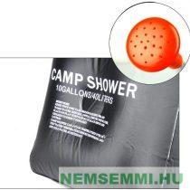 Szolár kerti vagy kemping zuhanyzó 40 literes