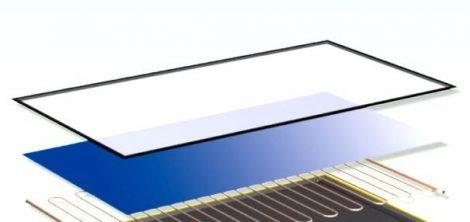 Tartalék üveglap síkkollektorhoz, napkollektor alkatrész speciális hőkezelt mikroprizmás szolár üveg
