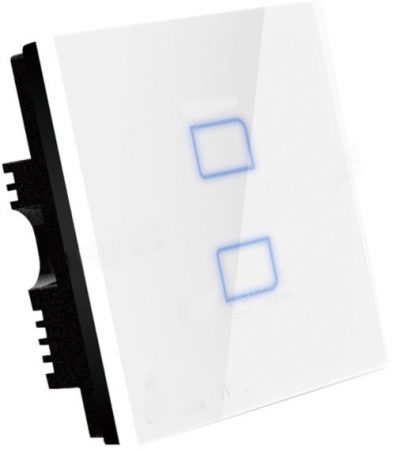 Okos fali villanykapcsoló érintés érzékelős vezérléssel
