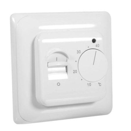Analóg termosztát elektromos padlófűtéshez 16A