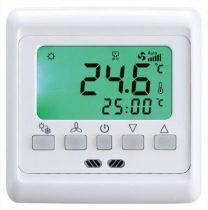 Digitális termosztát elektromos padlófűtéshez fehér 16A