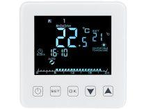 Wi-fi-s termosztát padlófűtéshez, hangvezérléssel, automatikus és manuális szabályozással