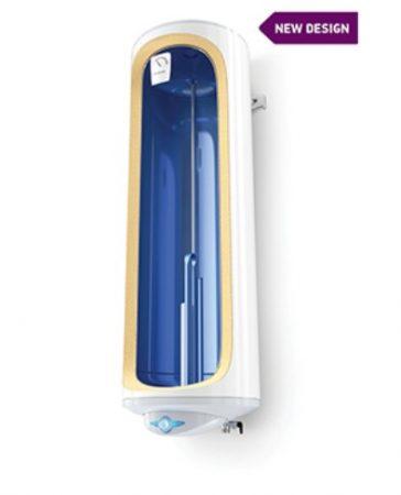 Extra keskeny 30 literes Tesy bojler üvegkerámia bevonat csak 380 mm átmérő gyors fűtés funkcióval