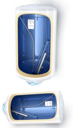 Villanybojler Tesy Anticalc 50 megfordítható különleges tervezés függőlegesen és vízszintesen
