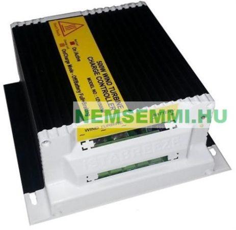 Töltésszabályozó szélgenerátorhoz és napelemhez 12V 500W