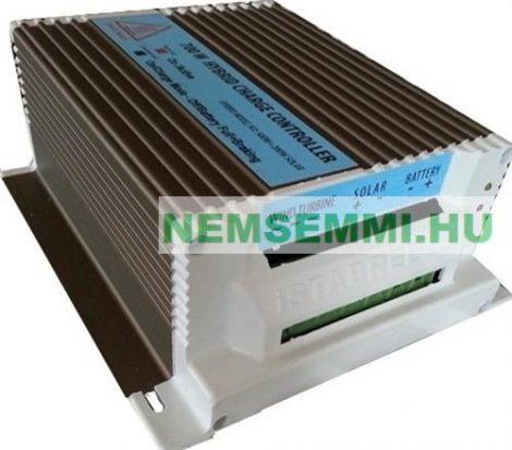 12V 500W + 150W hibrid töltésszabályozó AC 12V -> DC12V  háromfázisú szélkerékhez + 150W napelemhez
