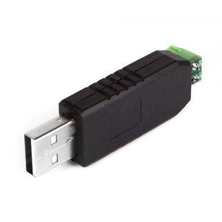RS485 napkollektor vezérléshez átalakító USB adapter CH340 chip adapter támogatás