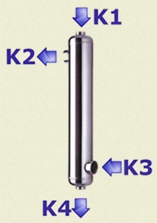 hőcserélő 105kW