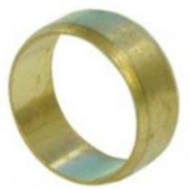 Vágógyűrűs napkollektor réz csatlakozó fitting 22 mm-es tartalék vágógyűrű