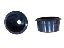 Napkollektor alkatrész: Heat-pipe rendszerű vákuumcső porvédő tömítés a vákuumcső gyűjtőhöz