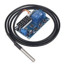 Napkollektor vezérlés elektronika 5V hőmérséklet kapcsoló hőkülönbség szabályzó elektronika és DS18B