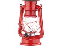 Napelemes LED dekoratív viharlámpa 40 lumen 1,5W 23 cm