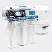 Víztisztító berendezés napi 190 l víz szűrésére alkalmas