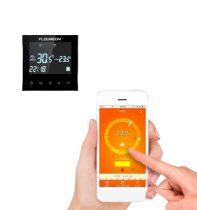 Wifi-s termosztát  Távoli eléréssel, akár a világon bárhonnan szabályozni tudja szobája fűtését.