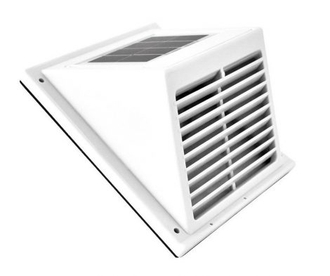Napelemes ventillátor szellőztetés csőventillátor és napelem