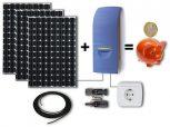 Konnektorba dugható napelem rendszer