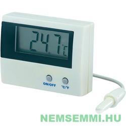 Digitális hőmérő 1 méter vízálló érzékelő kábellel