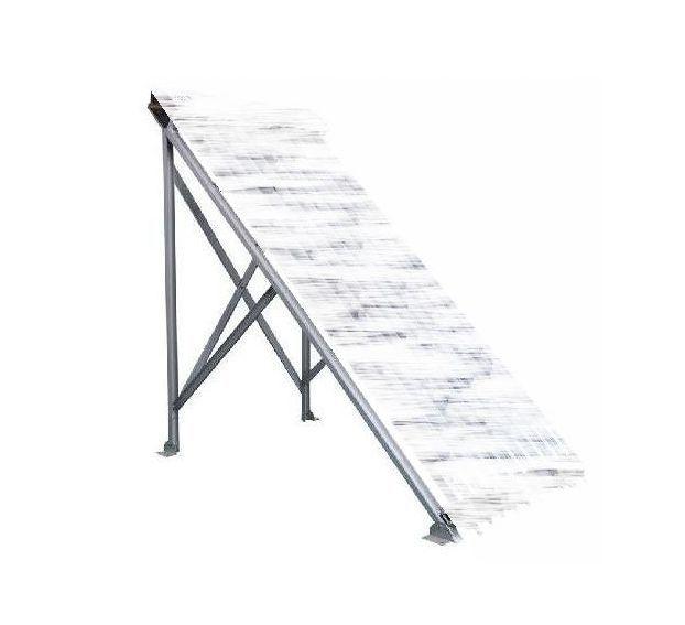 10 vákuumcsöves napkollektor részére univerzális szerelő keret ferde tovább sík tetőhöz vagy talajra tartókeret
