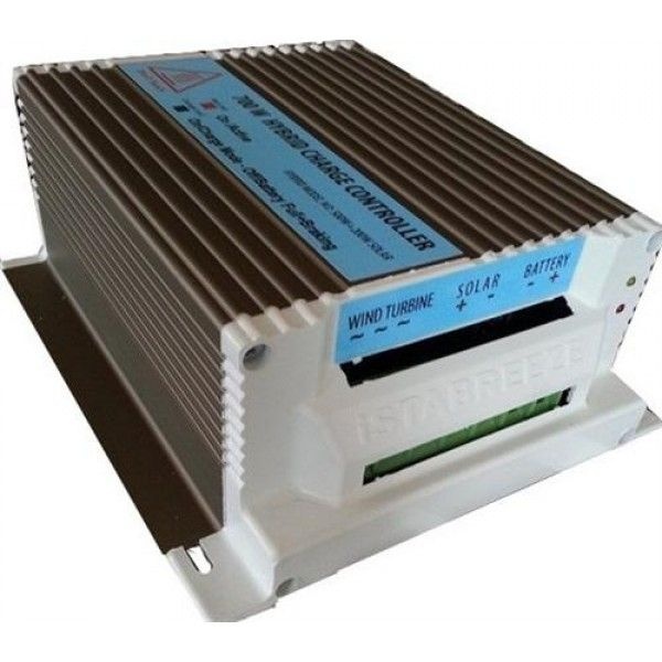 12V 500W + 150W hibrid töltésszabályozó AC 24V -> DC12V  háromfázisú szélkerékhez + 150W napelemhez egyszerre! szélgenerátor szélkerék szélturbina